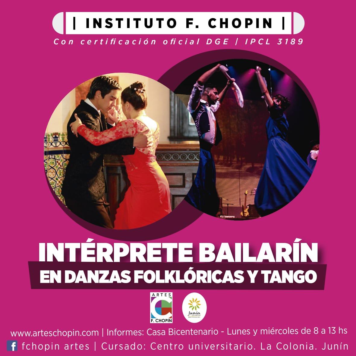 Interprete bailarin